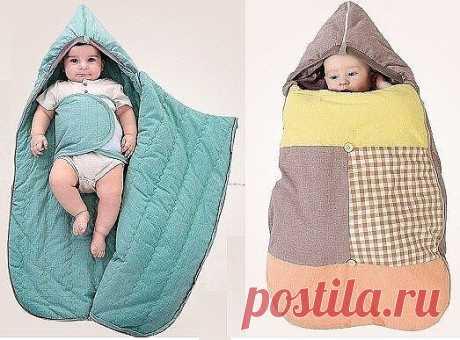 Спальный мешок для малыша.