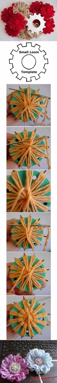 DIY Gear Flower DIY Projects | UsefulDIY.com na Stylowi.pl
