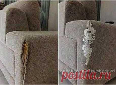Идея ремонта дивана