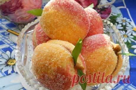 Печенье-пирожное «Персики»