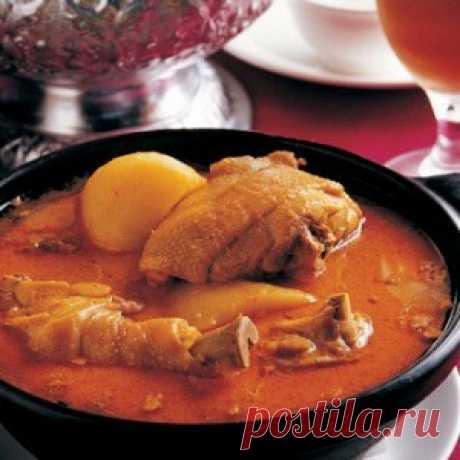 Чахохбили из курицы,– грузинская кухня: