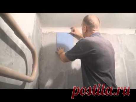Облицовка плиткой чугунной ванны ч.1