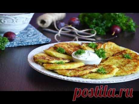 Драники из кабачков и картофеля: вкусные и простые рецепты