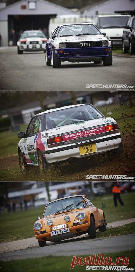 RALLY RULES AT RACE RETRO.