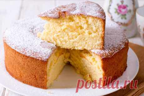 Пирог на кефире в духовке: рецепт от Шефмаркет