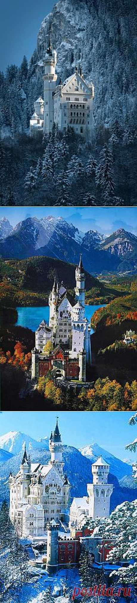 Neuschwanstein Castle, Bavaria, Germany | places I like