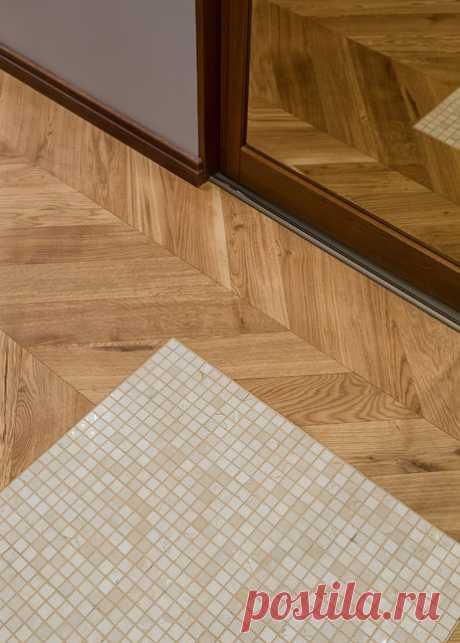 Дизайн-дебаты: Как состыковать два материала на полу Стык плитки и ламината без порожка или с порожком — как сделать красиво, удобно и безопасно