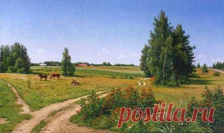 El pintor Zoryukov Alejandro Vasílievich 4 parte