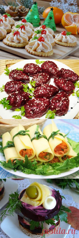 12 оригинальных закусок для праздничного стола | Вкусные рецепты