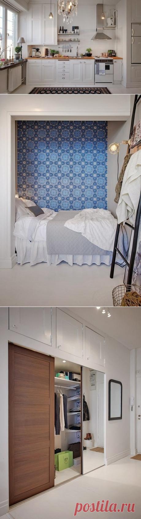 Дизайн квартиры-студии 36 кв.м. - Дизайн интерьеров   Идеи вашего дома   Lodgers