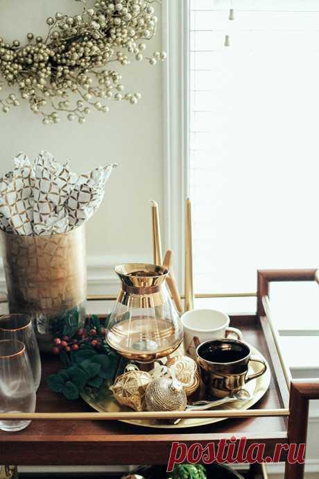 Как можно празднично декорировать обычную квартиру: реальный пример - Roomble.com