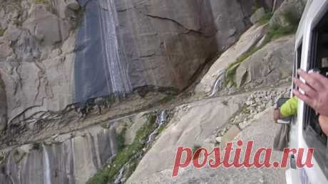 Insane Bus Ride in The Himalayas!-Getting To The Mountains Is Exciting As Climbing Them