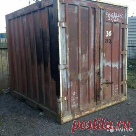 Железнодорожный контейнер 5 ткупить вСызрани | Товары для дома идачи | Авито