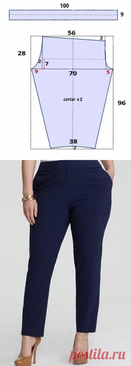 Narrow trousers on the 54th size, we sew in an evening...   woman of fashion   Yandex Zen