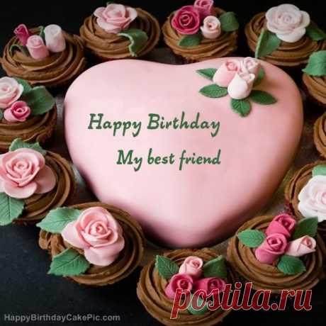 pink-birthday-cake-for-My best friend. (500×500)