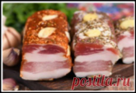 Деликатес простым способом - домашняя свиная грудинка сухого посола (2 варианта рецепта)