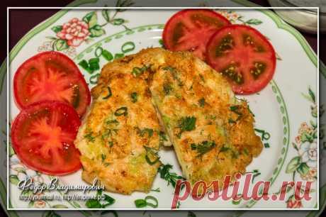 Шницель из капусты | Домашние рецепты