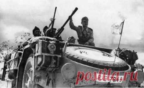 FIAT-SPA AS42 Sahariana - боевая колесница Муссолини.