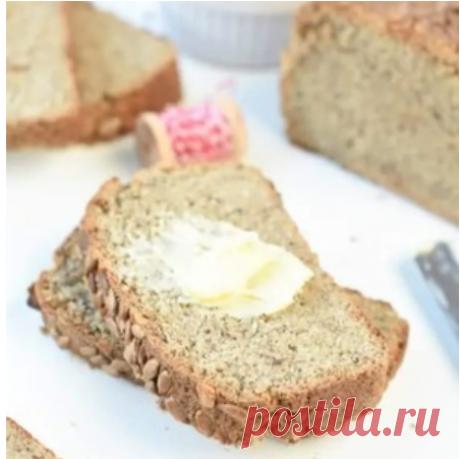 Рецепт кето хлеба из подсолнечной муки (КБЖУ подсчитаны)
