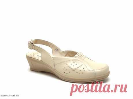 Босоножки летние Марко 344002 Легкие летние туфли из натуральной кожи на широкую ногу