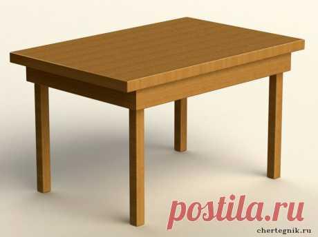 Мебель с чертежами