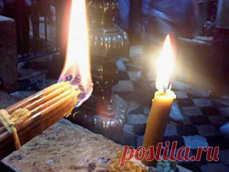 Свечи со Святой Земли. Что делать если вам подарили иерусалимские свечи?