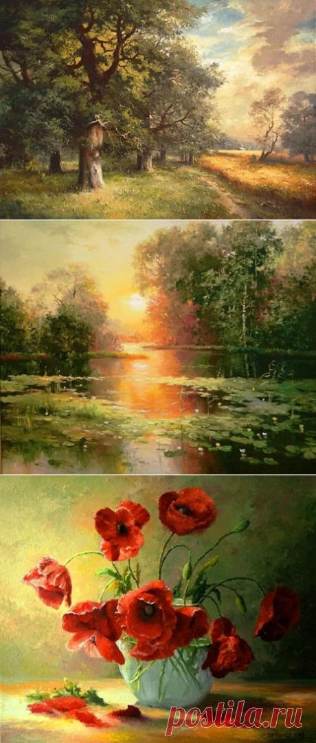 Художник Ян Барткевич (Jan Bartkevics)   Картины