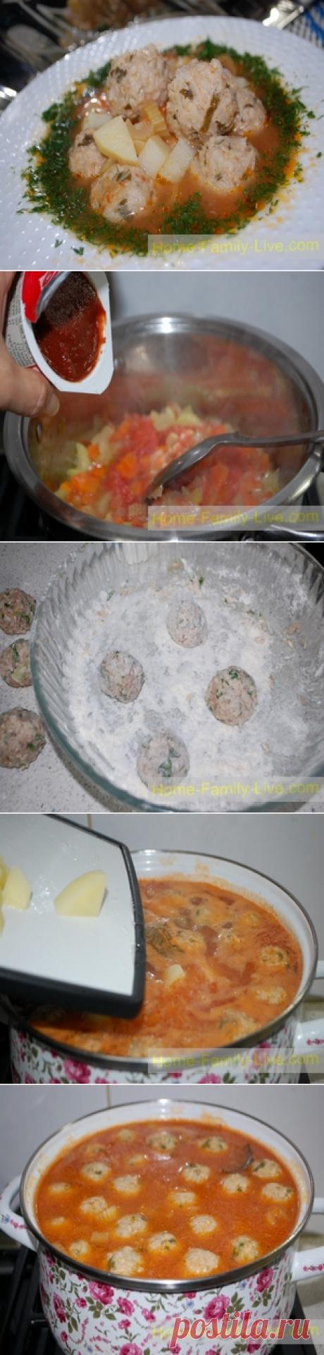 Фрикадельки по турецки/Сайт с пошаговыми рецептами с фото для тех кто любит готовить