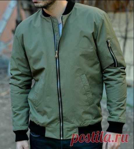 Запись на стене Мужская куртка-бомбер, 44-50Источник [club129743456|Дизайн|Пошив|Мастер-классы|Выкройки] 🌸🌸🌸