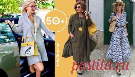 Модные и актуальные платья, которые должна иметь в своем гардеробе женщина за 50 | Рекомендательная система Пульс Mail.ru