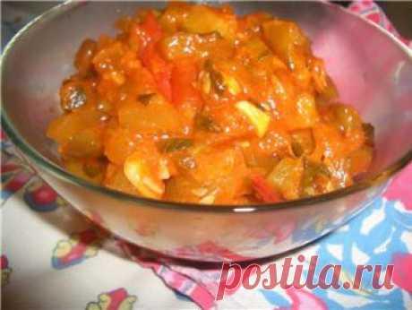 горячего салата из кабачков на зиму - Кабачки на зиму . 1001 ЕДА вкусные рецепты с фото!