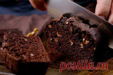 Постный шоколадный манник с орехами. Полюбили всей семьей! | Fresh.ru домашние рецепты | Яндекс Дзен