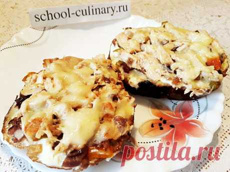 Такие бутерброды очень аппетитно смотрятся на столе и сметаются гостями в считанные минуты | school-culinary.ru | Яндекс Дзен