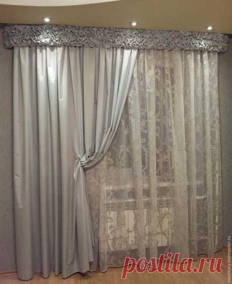 Como coser rápidamente las cortinas con bufami