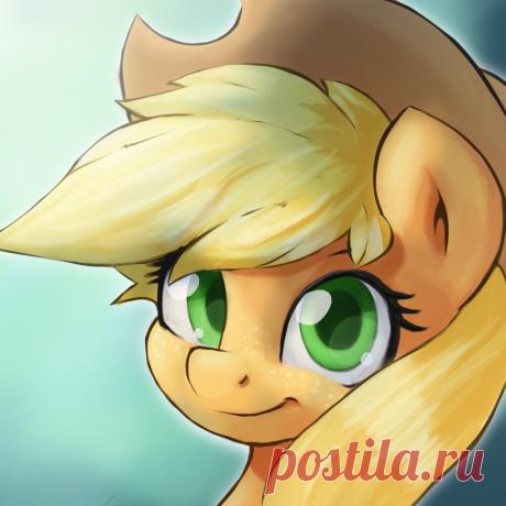 Applejack Profile by DarkSittich