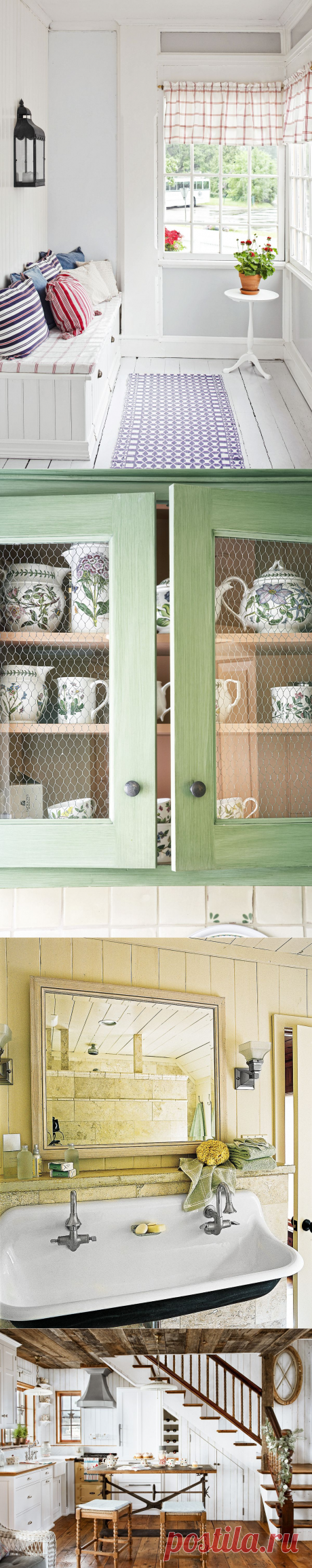 How to Design a Cozy Cottage-Style Interior - This Old House