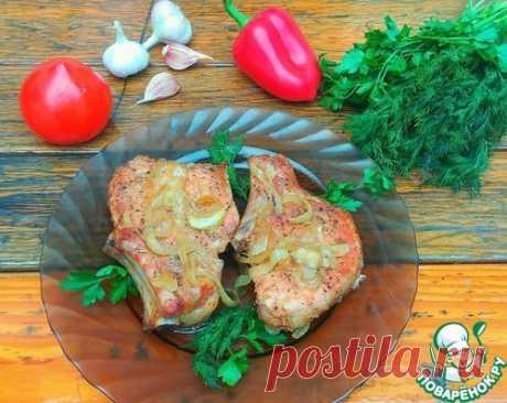 Свиная корейка на кости в духовке – кулинарный рецепт