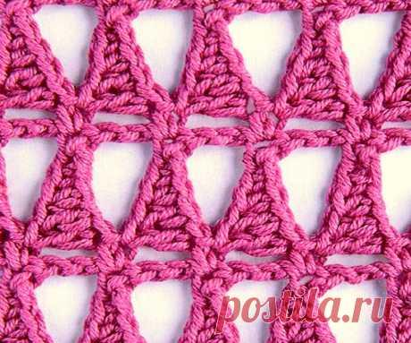 15 разнообразных вариантов сетки крючком | Paradosik_Handmade | Яндекс Дзен