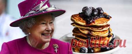 Рецепт оладий от Елизаветы II, которым она поделилась с президентом США | Regius | Яндекс Дзен