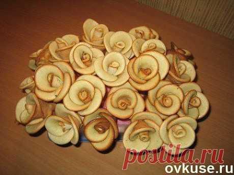 Печенье Розы - Простые рецепты Овкусе.ру
