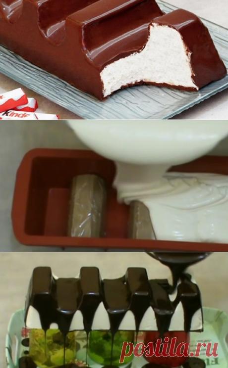 Домашний «киндер-шоколад»