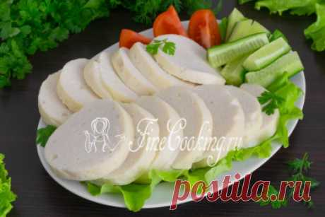 Домашняя куриная колбаса - рецепт с фото