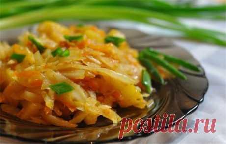Рагу с капустой и картошкой в мультиварке – сытное полезное блюдо | Краше Всех