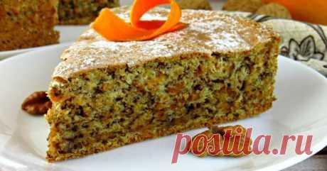Как приготовить тыквенный пирог с орехами - Со Вкусом