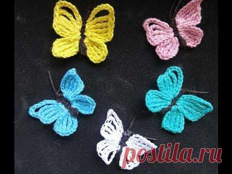 Бабочка. Вязание крючком / Увлечения и хобби