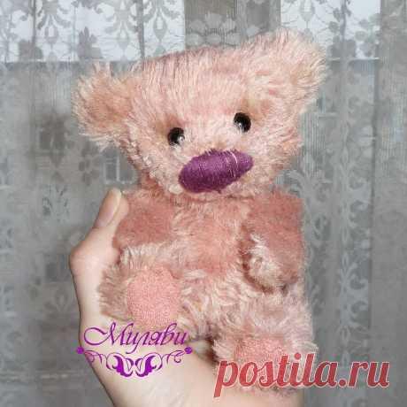 АВТОРСКИЕ КУКЛЫ И ТЕДДИ 👸🐘 в Instagram: «Вот и родилась моя розовая зеФирка для #тедди_степан ! Безумно нежный и обаятельный медвеженок😙. Я пока называю его Зефиркой, но дочка…»
