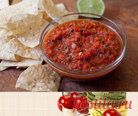 Острый томатный соус на зиму без стерилизации | Печем и варим