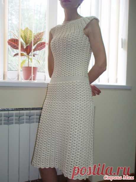 . Платье из Журнала Мод - Все в ажуре... (вязание крючком) - Страна Мам