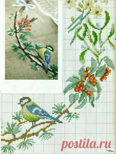 Схемы для вышивки — DIYIdeas