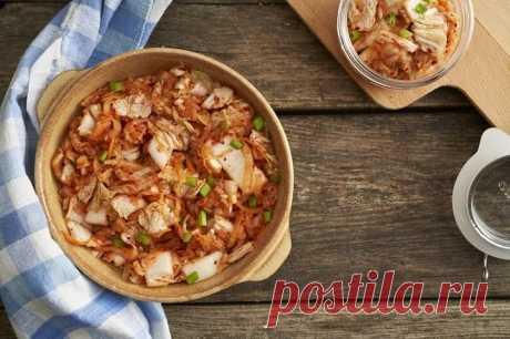 Кимчи по-корейски из пекинской капусты – пошаговый рецепт с фото.